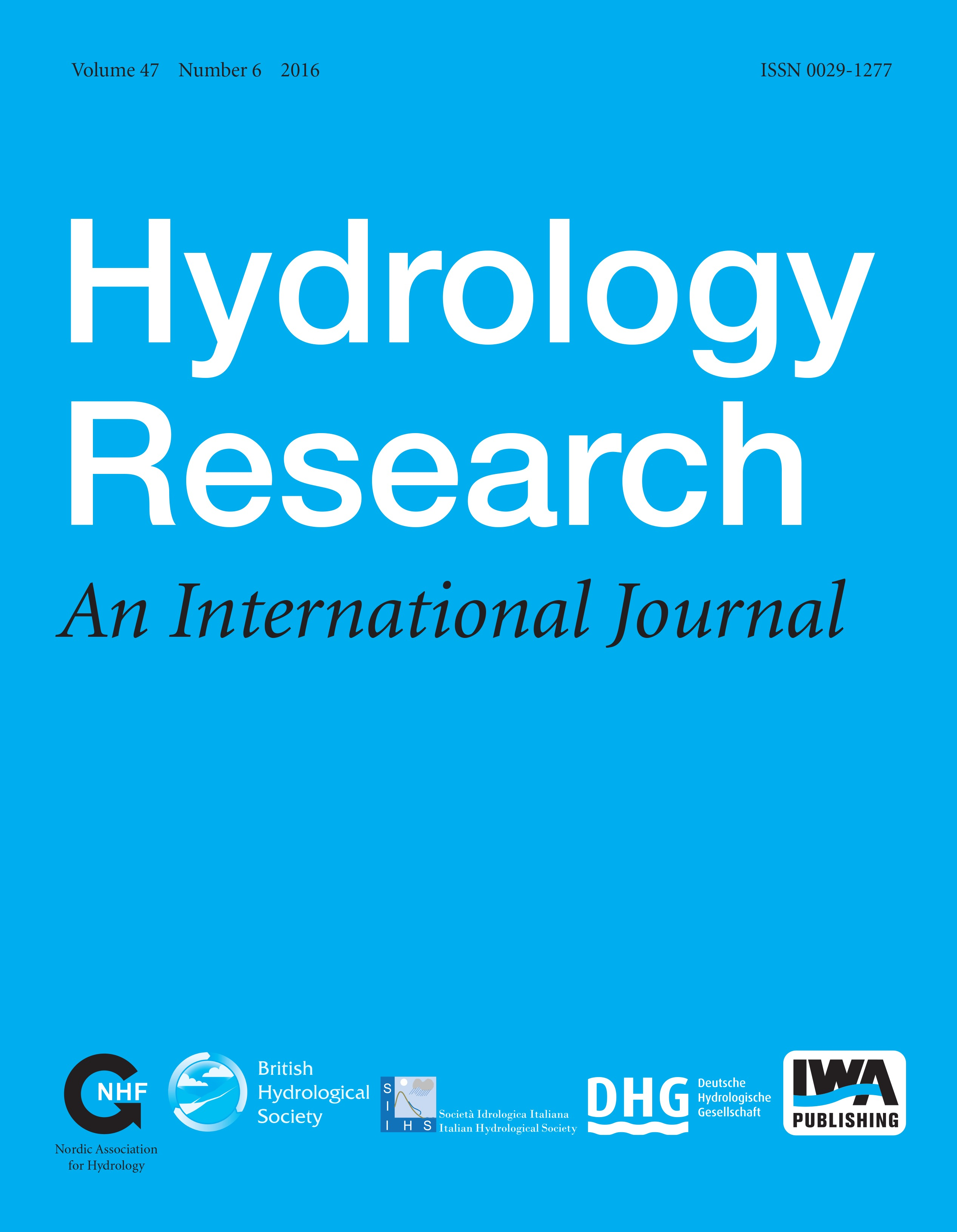 research paper on hydrology pdf