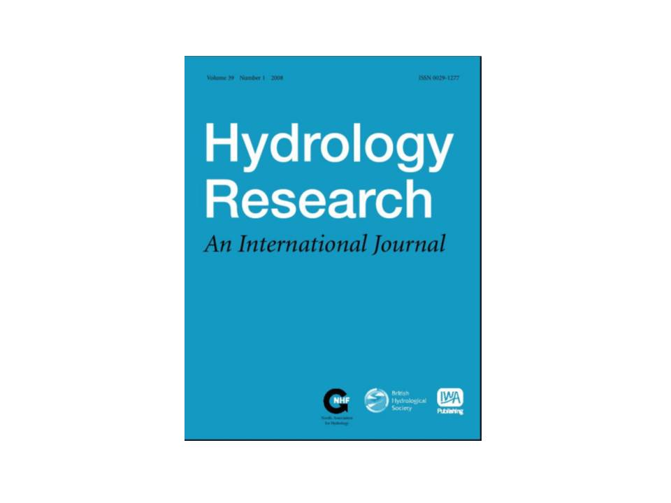 hydrology research papers Get more information about 'journal of hydrology in this guide for authors for elements of the proposed research is required for technical papers.